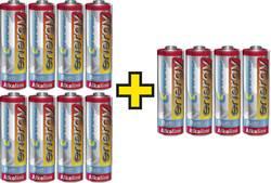 Ekonomipack: 3x 4-pack Conrad energy Extreme Power alkaliska R6-batterier till priset för 2