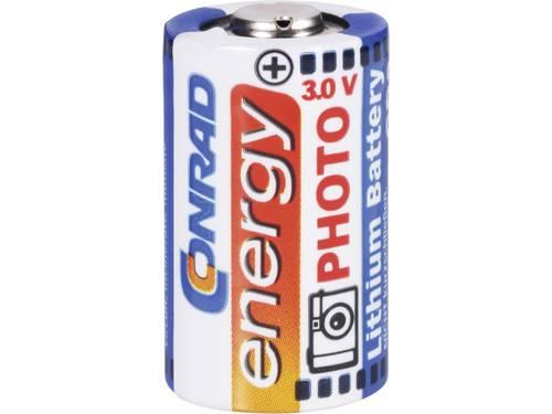 Conrad energy CR2 Fotobatterij Lithium 750 mAh 3 V 1 stuks