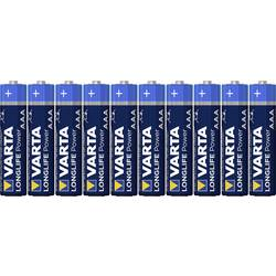AAA-batteri Alkali-mangan Varta High Energy LR03 1.5 V 10 stk