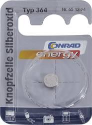 Knappcell 364 Silveroxid Conrad energy SR60 23 mAh 1.55 V 1 st
