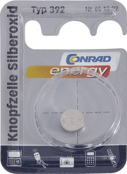 Knappcell 392 Silveroxid Conrad energy 45 mAh 1.55 V 1 st