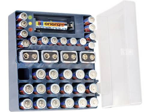 Conrad energy Batterijset AAA, AA, 9 V 36 stuks Incl. box