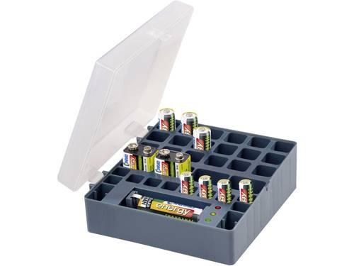Conrad energy Oplaadbare batterijenset 9 V, AAA, AA 10 stuks Incl. box