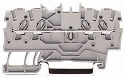 Gennemgangsklemme 3.50 mm Trækfjeder Rød WAGO 2000-1403 100 stk