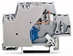 Enkelt klemme 10 mm Trækfjeder Belægning: L Grå WAGO 280-502/281-587 50 stk