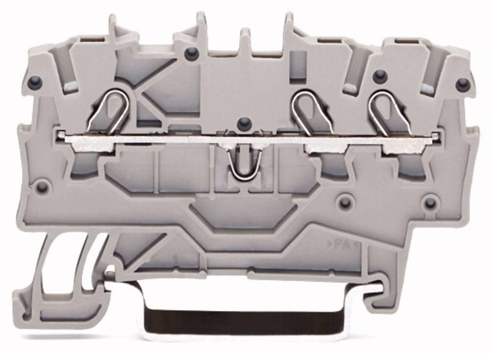 Gennemgangsklemme 3.50 mm Trækfjeder Sort WAGO 2000-1305 100 stk
