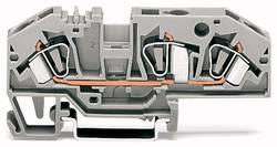 Gennemgangsklemme 8 mm Trækfjeder Belægning: N Blå WAGO 282-694 25 stk
