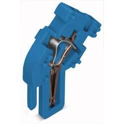 Enkelt klemme 5 mm Trækfjeder Belægning: N Blå WAGO 769-513/000-006 250 stk
