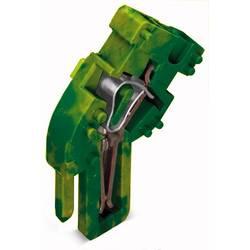 Enkelt klemme 5 mm Trækfjeder Belægning: Terre Grøn-gul WAGO 769-513/000-016 250 stk