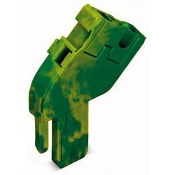 Enkelt klemme 5 mm Trækfjeder Belægning: Terre Grøn-gul WAGO 769-512/000-016 250 stk
