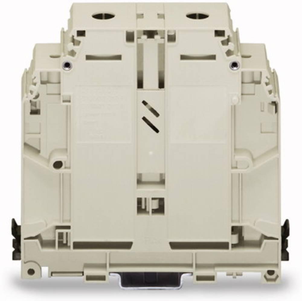 Gennemgangsklemme 31 mm Skruer Belægning: N Blå WAGO 400-499/499-717 10 stk