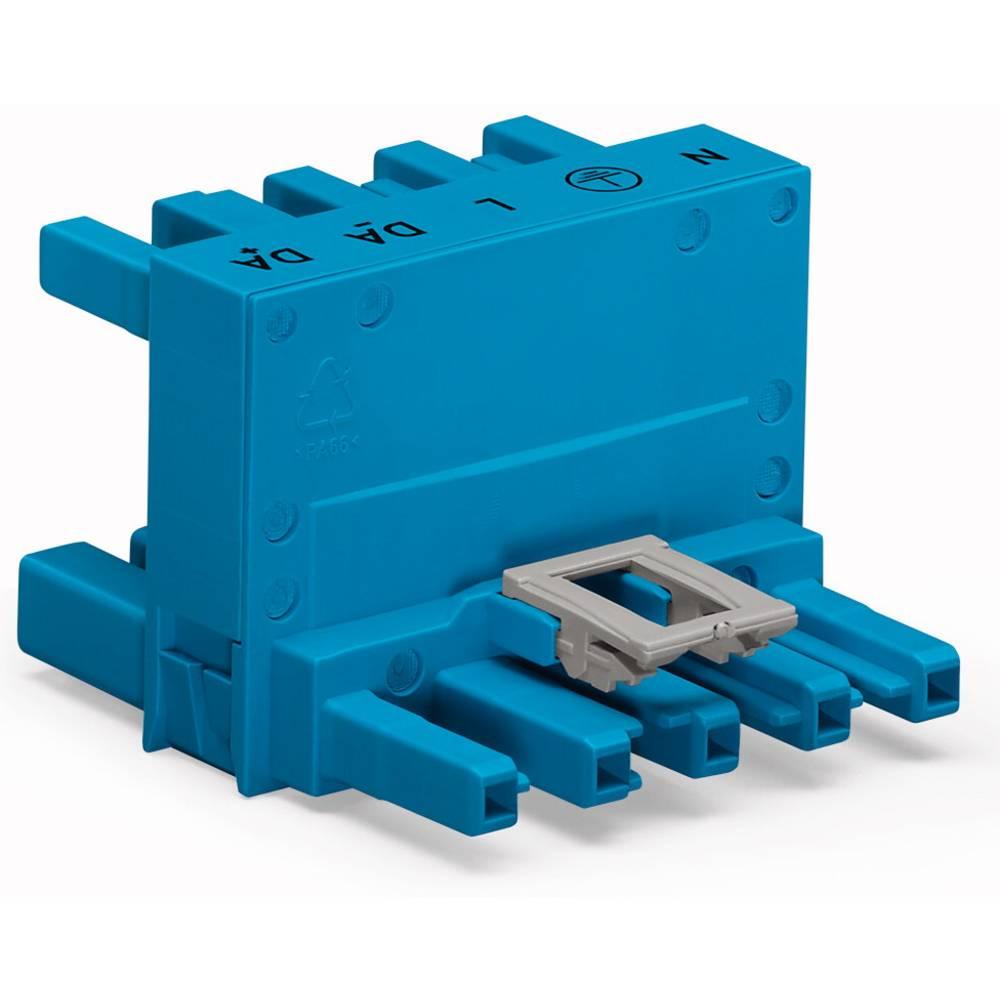 H-strømforsyningsfordeler WAGO Samlet poltal 5 Blå 25 stk