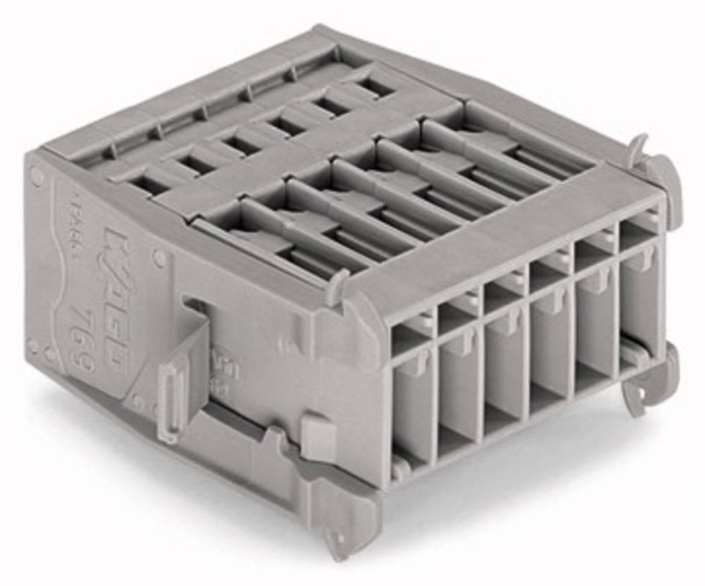 Tilslutningskabinet-kabel 769 Samlet antal poler 4 WAGO 769-604/005-000 Rastermål: 5 mm 25 stk