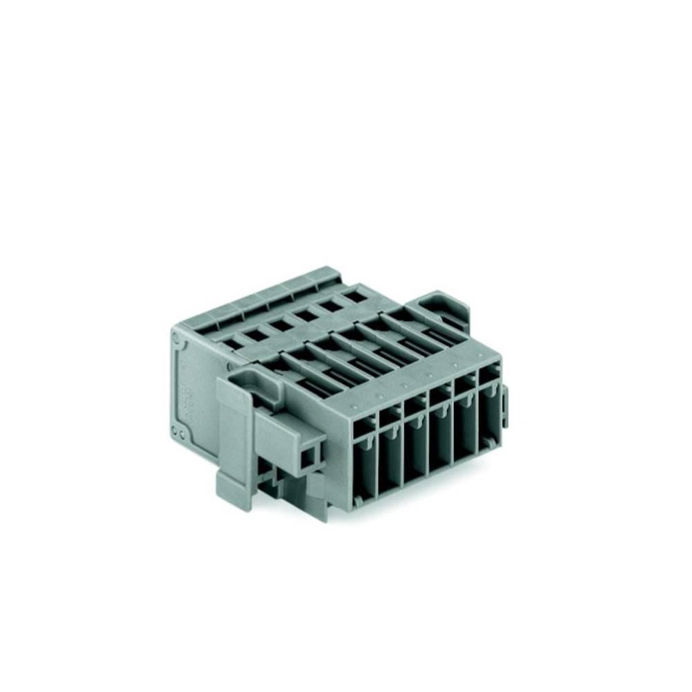 Tilslutningskabinet-kabel 769 Samlet antal poler 2 WAGO 769-602/004-000 Rastermål: 5 mm 100 stk