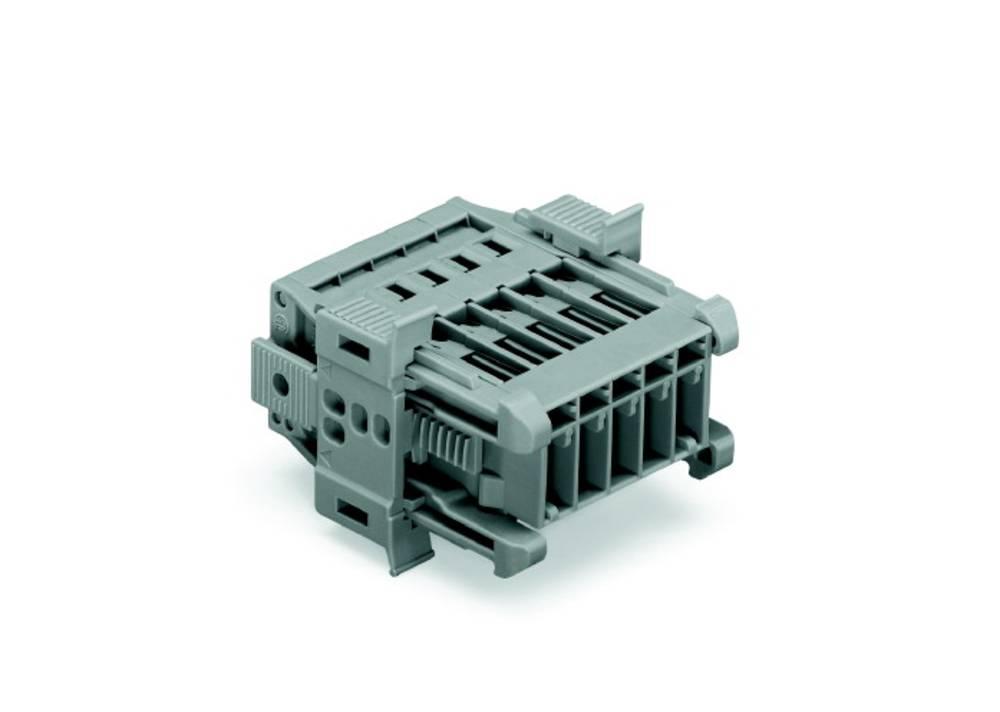 Tilslutningskabinet-kabel 769 Samlet antal poler 5 WAGO 769-605/006-000 Rastermål: 5 mm 25 stk