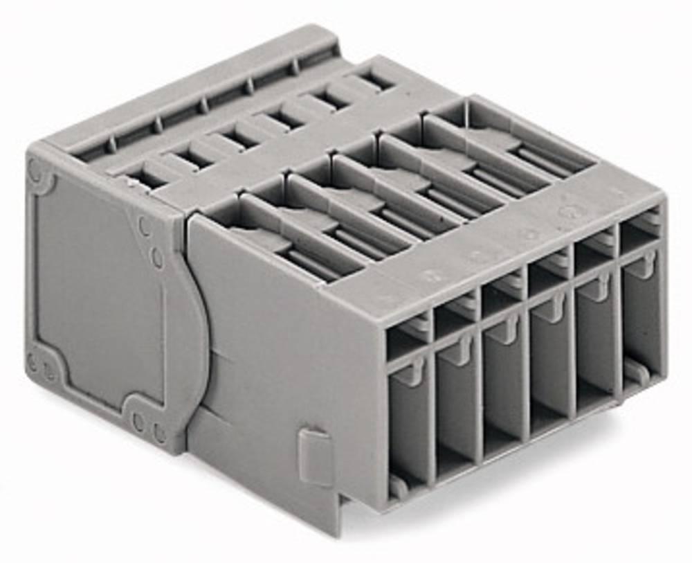 Tilslutningskabinet-kabel 769 Samlet antal poler 4 WAGO 769-604/001-000 Rastermål: 5 mm 50 stk