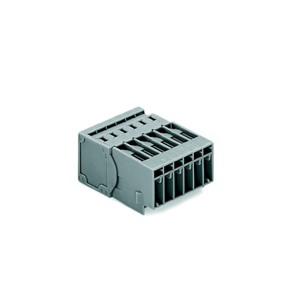 Tilslutningskabinet-kabel 769 Samlet antal poler 6 WAGO 769-606 Rastermål: 5 mm 50 stk