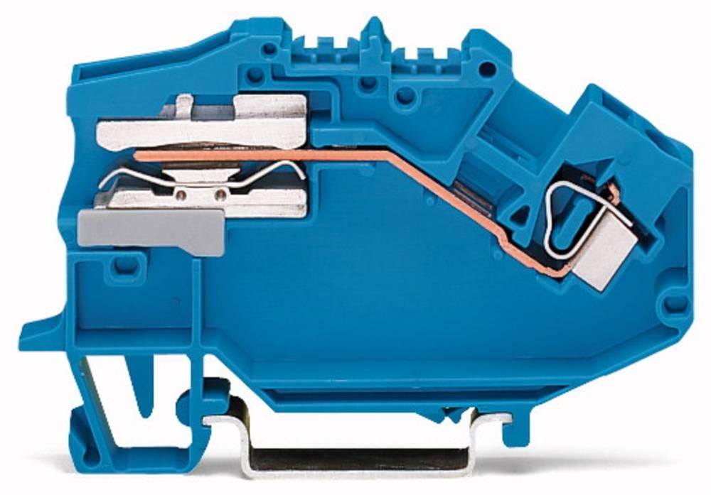 Potentialklemme 6 mm Trækfjeder Belægning: L Grå WAGO 781-623 50 stk