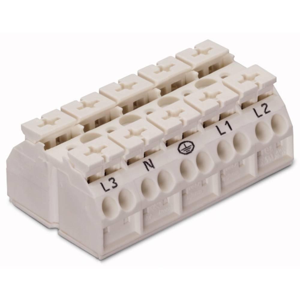 Enhedstilslutningsklemme Fjederklemme Hvid WAGO 862-8605 200 stk
