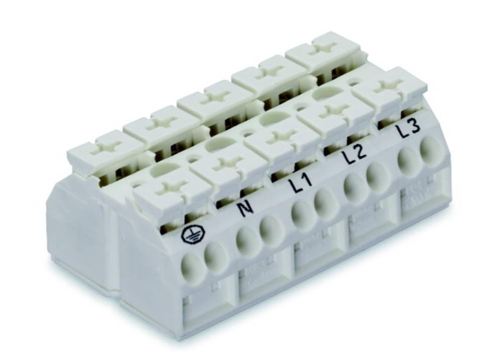 Enhedstilslutningsklemme Fjederklemme Hvid WAGO 862-1605 200 stk
