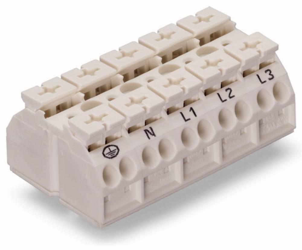Enhedstilslutningsklemme Fjederklemme Hvid WAGO 862-9625 200 stk