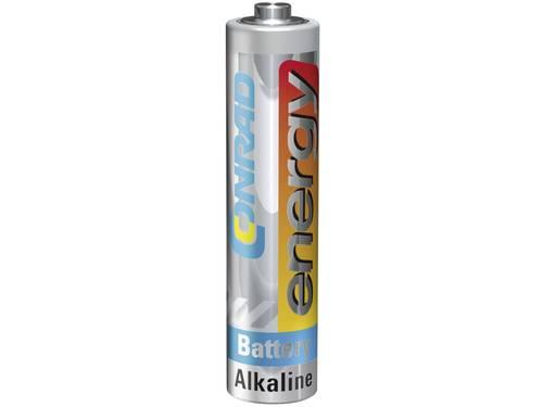 AAA batterij (potlood) Conrad energy LR03 Alkaline 1.5 V 1 stuks