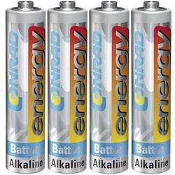 AAA-batteri Alkali-mangan Conrad energy LR03 1.5 V 4 stk
