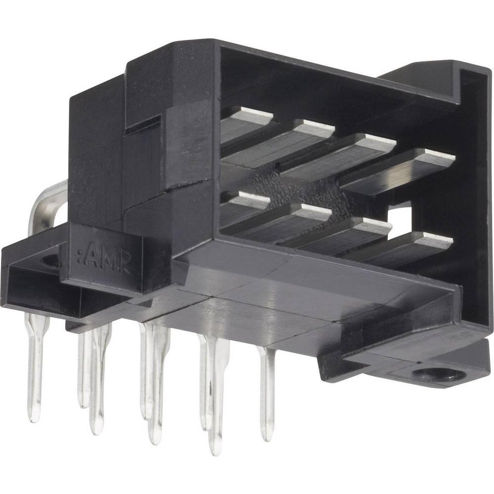 Stiftkabinet-printplade J-P-T Samlet antal poler 4 TE Connectivity 828801-1 Rastermål: 5.60 mm 1 stk
