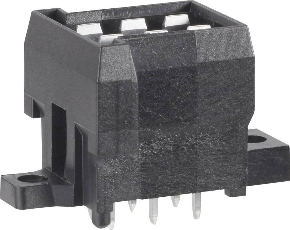 Stiftkabinet-printplade J-P-T Samlet antal poler 6 TE Connectivity 963357-5 Rastermål: 5.60 mm 1 stk