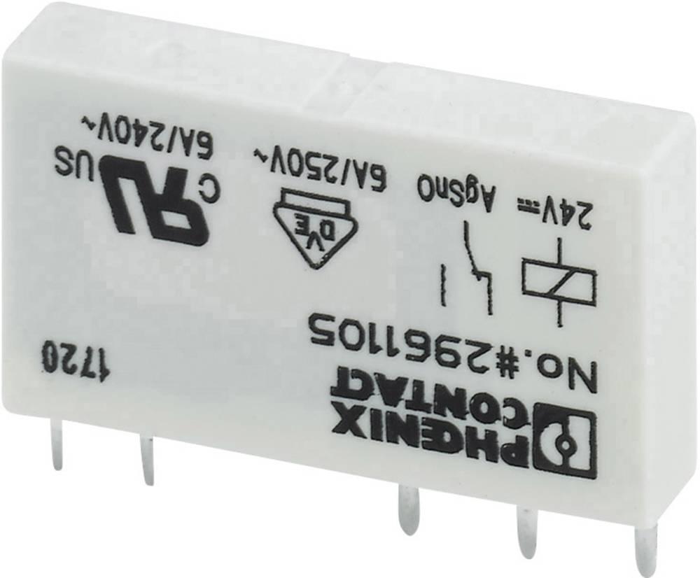 Tiskalni rele 12 V/DC 6 A 1 izmenjevalnik Phoenix Contact REL-MR- 12DC/21 1 kos