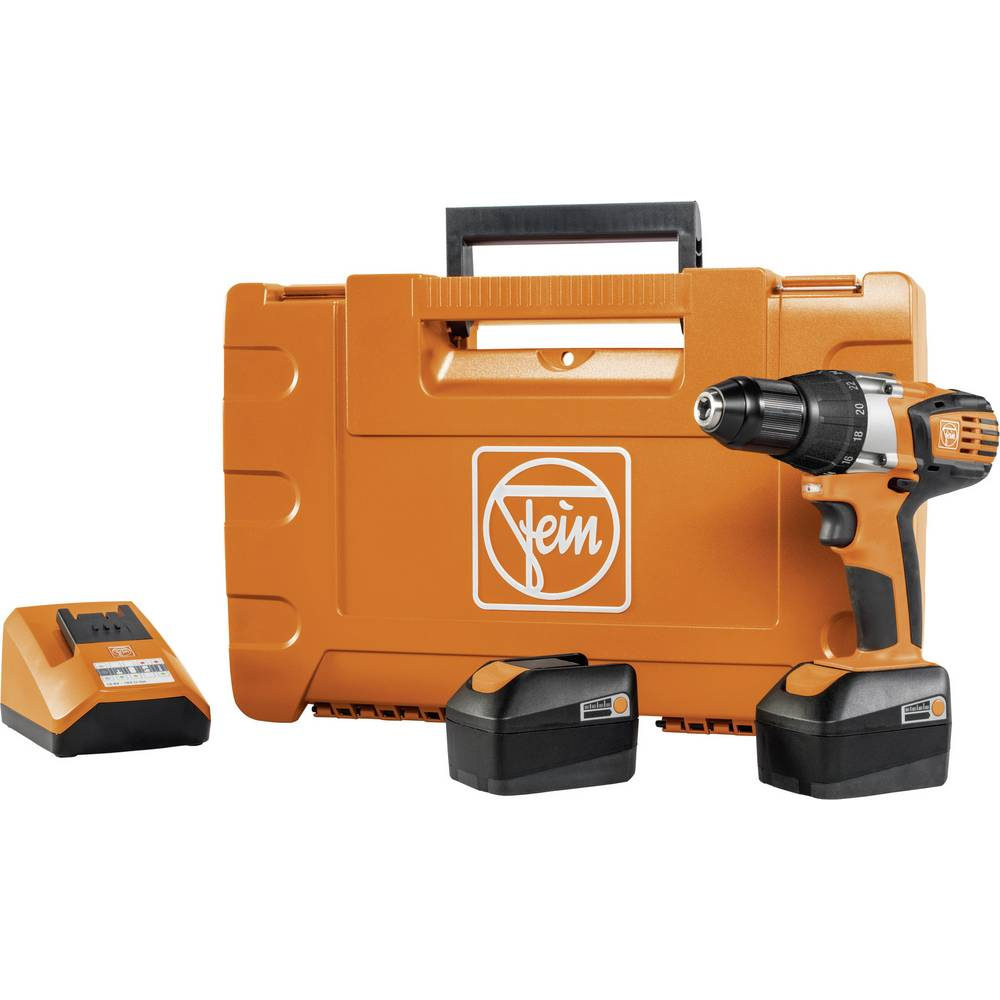 fein abs 14 cordless drill 14 4 v 4 ah li ion incl spare battery incl from conrad