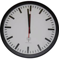 56862 Radio Wall clock 40 cm Black