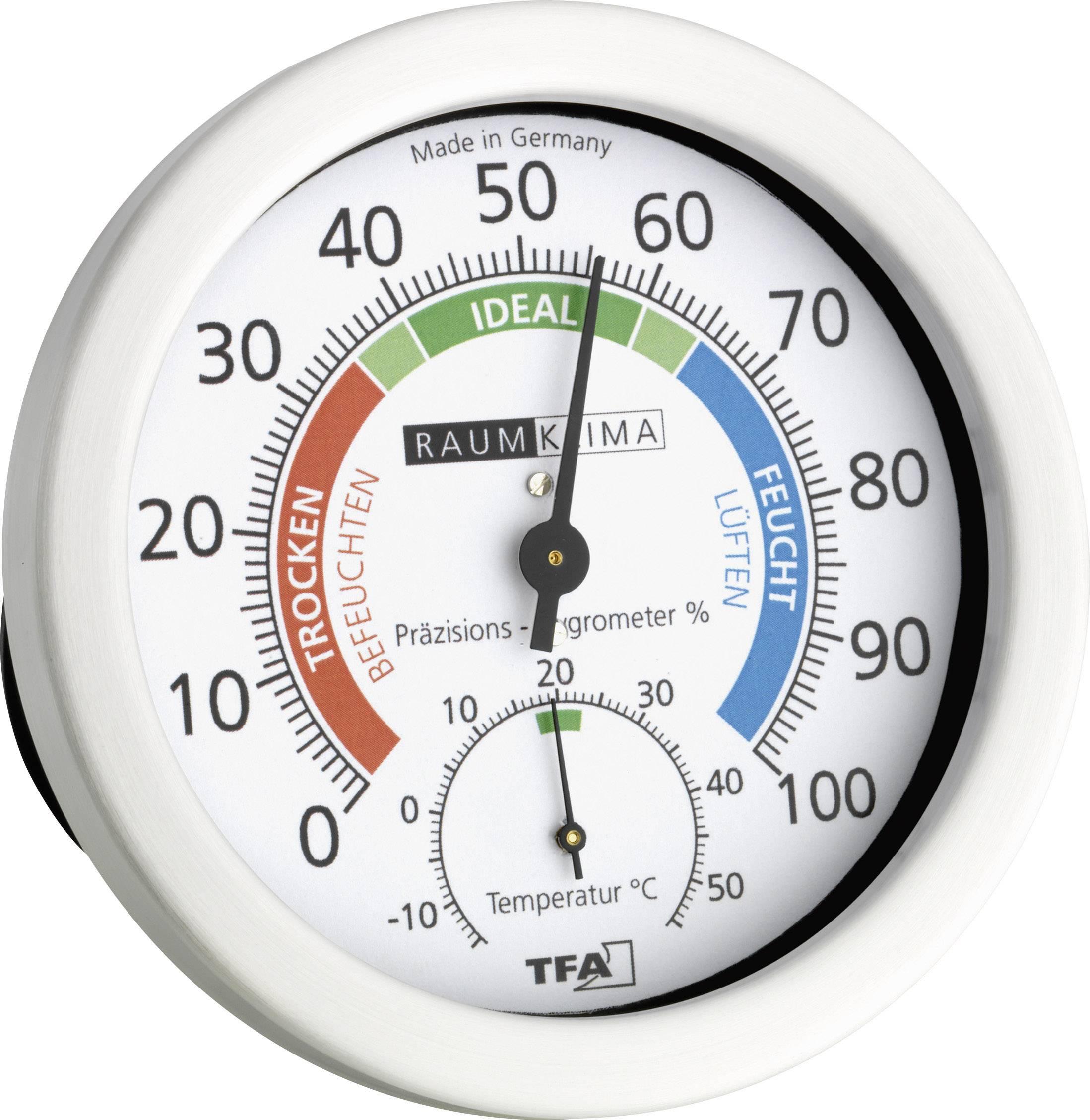 Thermometer mit Hygrometer Pingi PHT-200