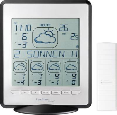 Techno Line WD 9550 SAT weather station Forecasts for 4 days