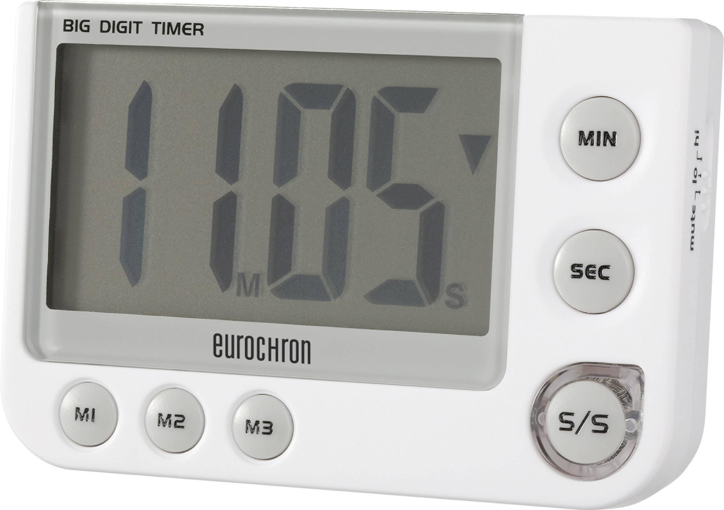 Eurochron EDT 4000 Timer White Digital | Conrad com