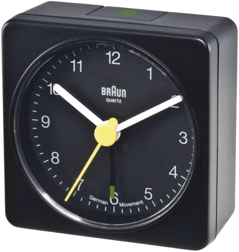 Quarz Vækkeur Braun 66000 Sort Alarmtider 1