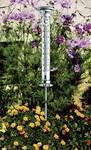 Solar garden thermometer solino