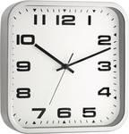 TFA Square Metal Quartz Wall Clock