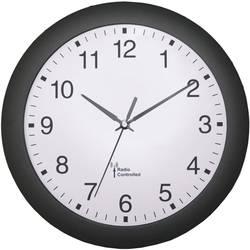 56781 Radio Wall clock Black