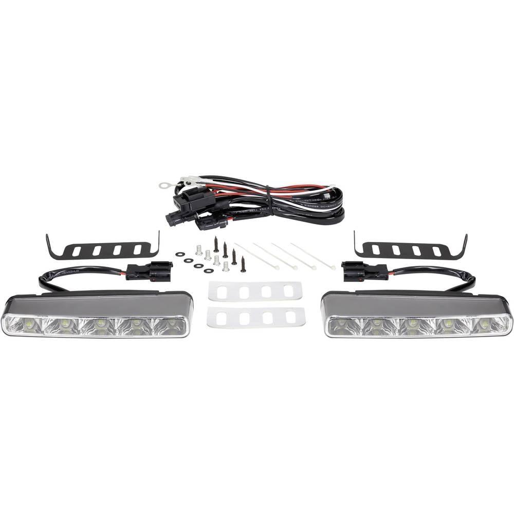 Kørelys; LED (B x H x T) 160 x 25 x 55 mm Renkforce TTX-8009
