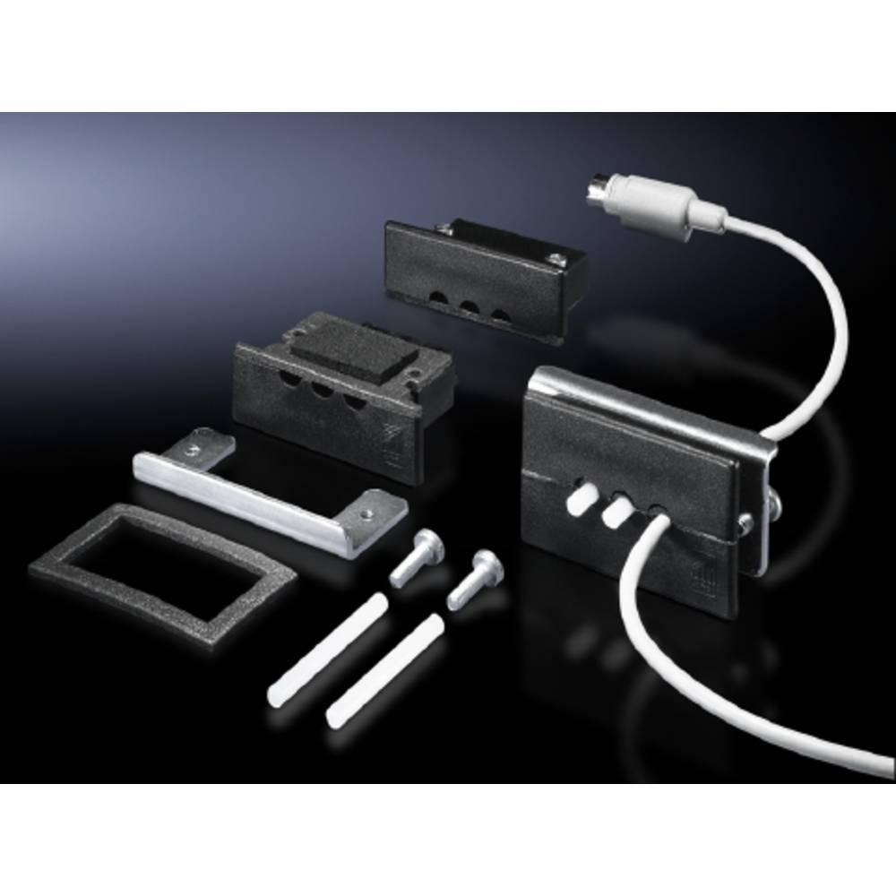 Uvodna plošča 2-kratna premer(max.) 8 mm, iz plastike, črna (RAL 9005) Rittal SZ 2400.300 1 kos
