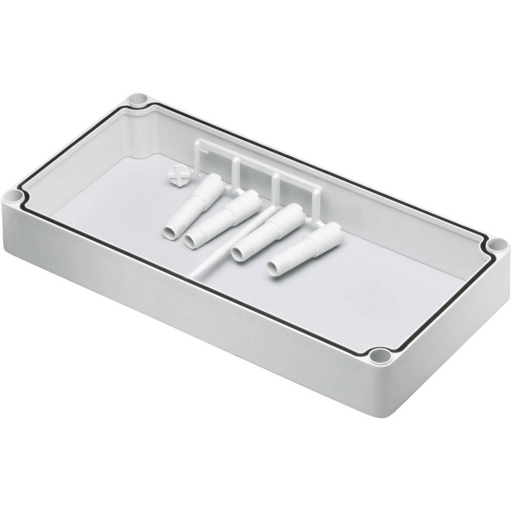 Mellemramme Fibox EK EKPZR (L x B x H) 380 x 280 x 50 mm Polycarbonat Lysegrå (RAL 7035) 1 stk