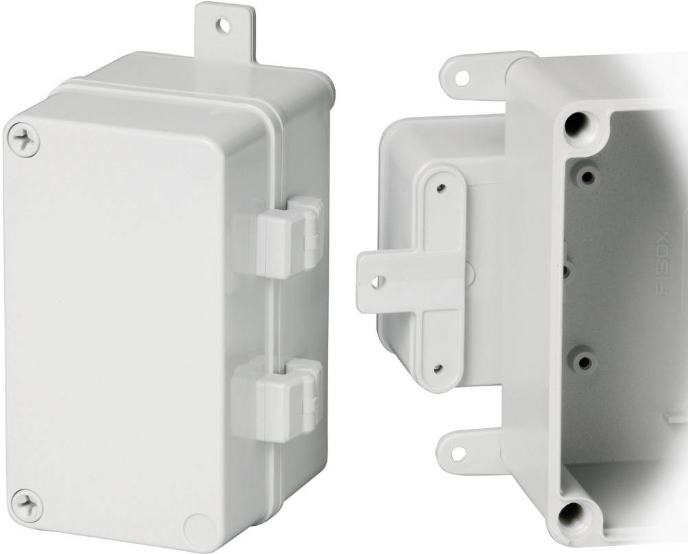 Hængsel Fibox ACCE PA 22039 8522339 Plast, Metal Grå 1 pair