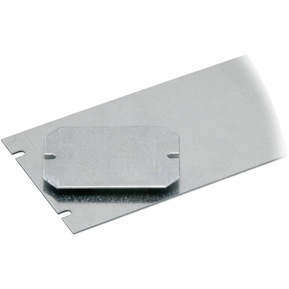 Monteringsplade Fibox PICCOLO H-MP (L x B) 125 mm x 94 mm Stålplade 1 stk