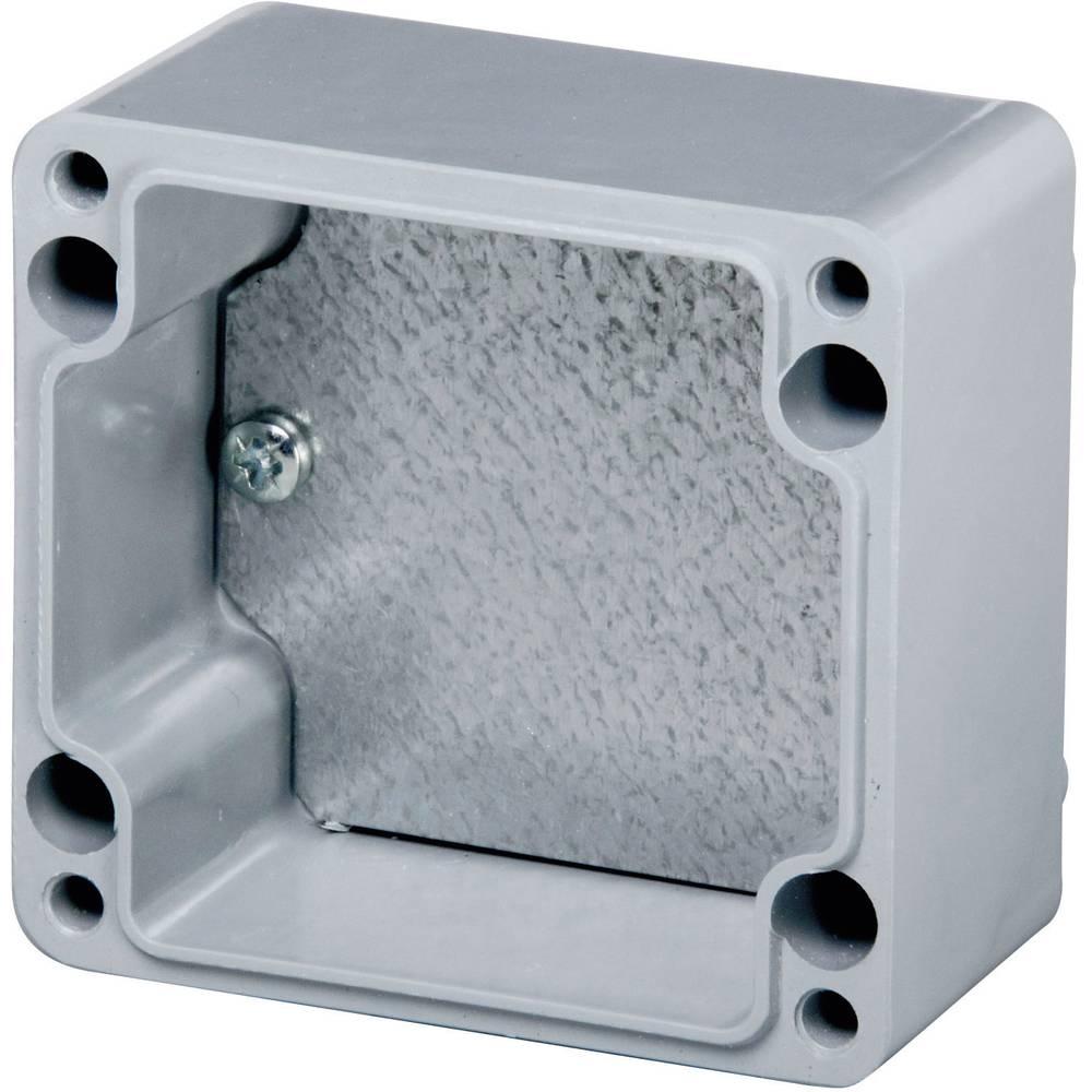 Monteringsplade Fibox EURONORD TM 0808 (L x B) 56 mm x 71 mm Stålplade 1 stk