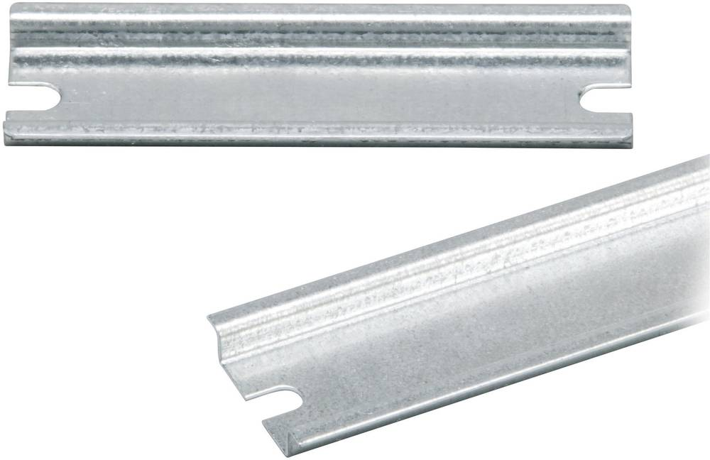 DIN-skinne Fibox EURONORD PRH 2526 Ikke perforeret Stålplade 238 mm 1 stk