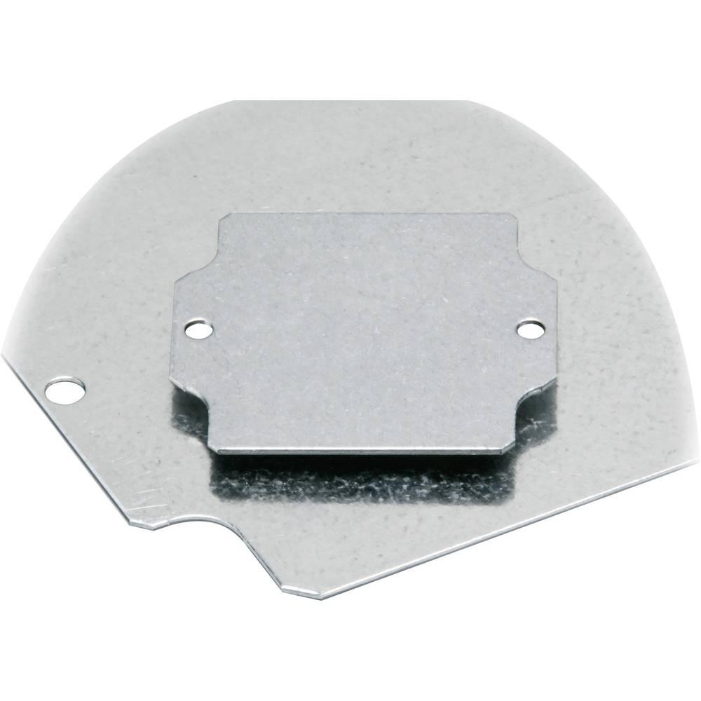 Monteringsplade Fibox EURONORD PM 0811 (L x B) 64 mm x 99 mm Stålplade 1 stk