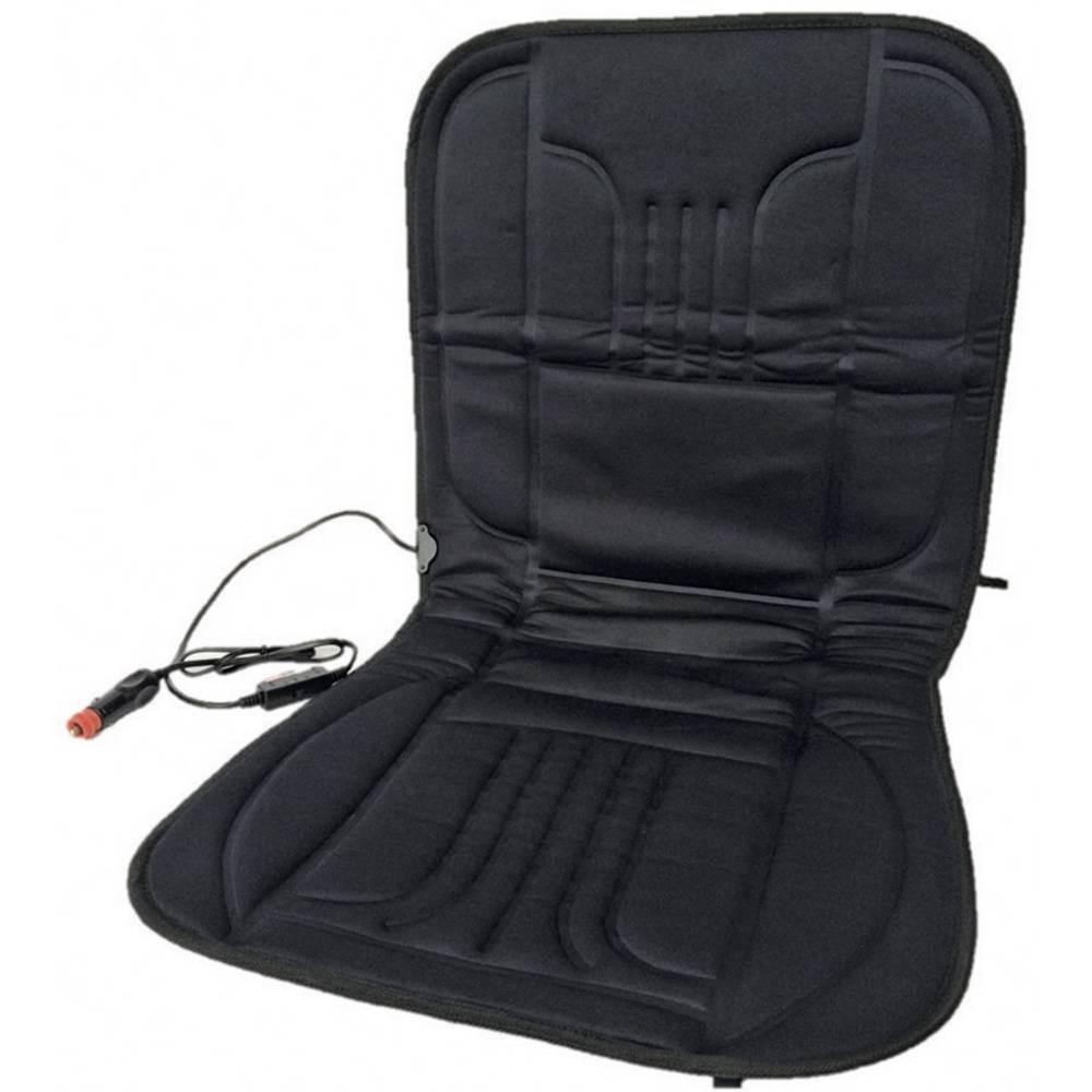 Sædebetræk, der kan varmes op Profi Power 12 V 2 varmetrin Sort