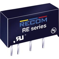 DC/DC-omformer, print RECOM R12P212S 12 V/DC 12 V/DC 166 mA 2 W