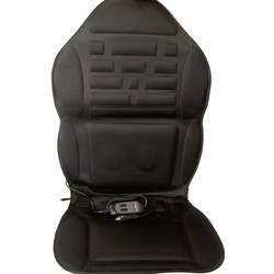 Sædebetræk, der kan varmes op Profi Power 12 V 2 varmetrin, Massagefunktion Sort